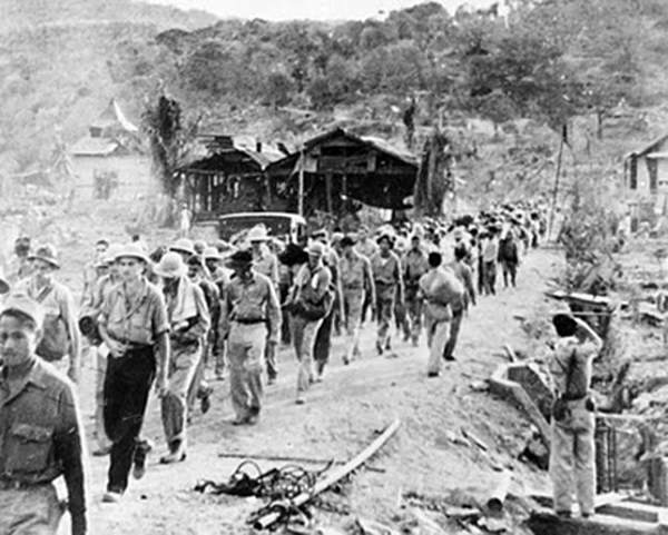 POWs on the Bataan Death March
