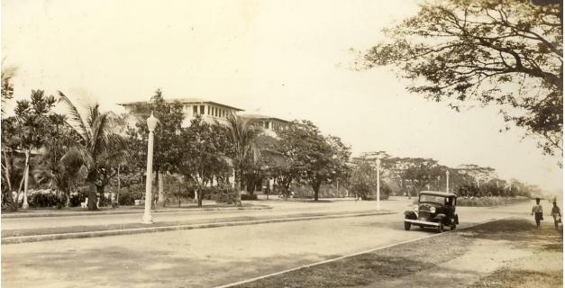 Dewey Boulevard in the 1920s