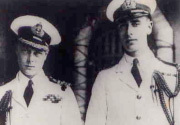 Prince of Wales and the Earl of Mountbatten, circa 1922