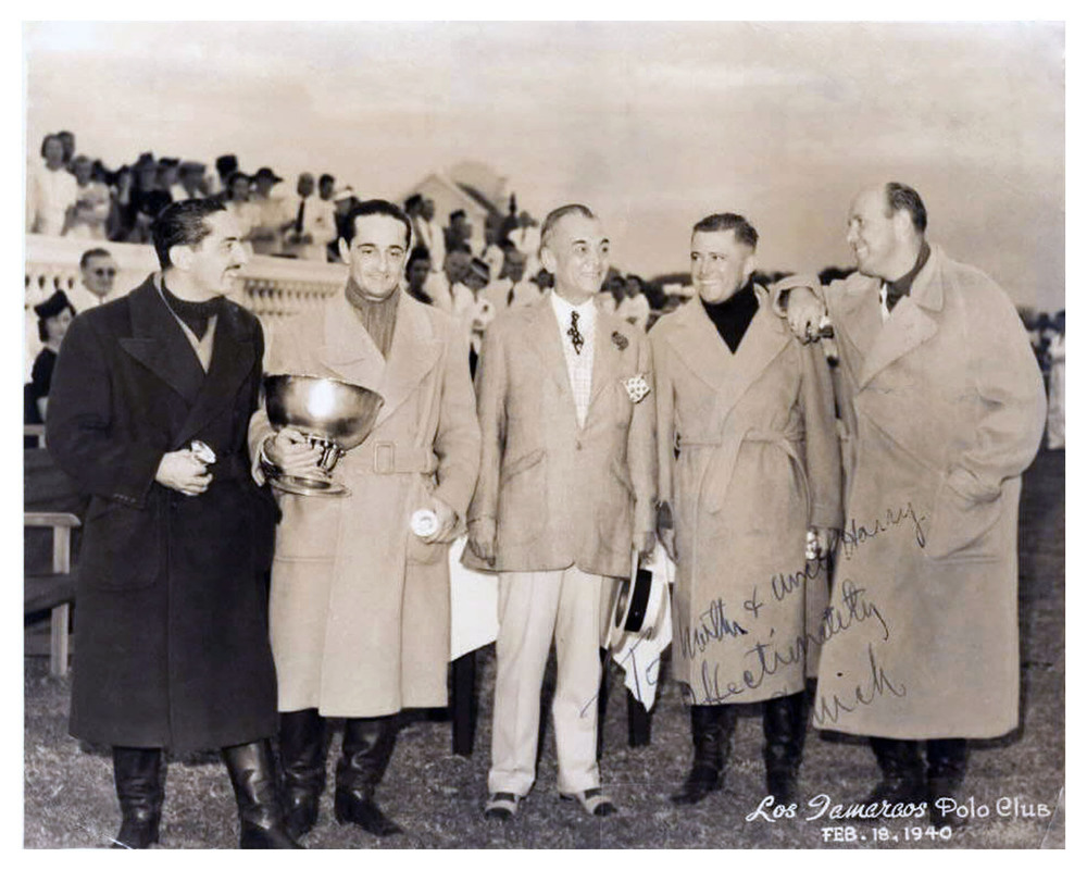 The Elizalde brothers with President Quezon