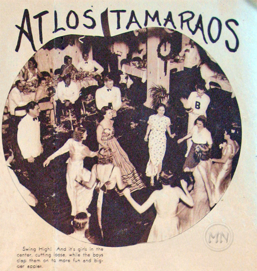 New Year's Eve at Tamaraos Club, circa 1937