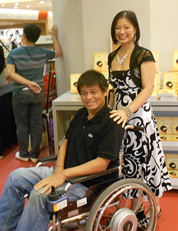 Marivi Soliven and brother, Nolet (Photo courtesy of Marivi Soliven)