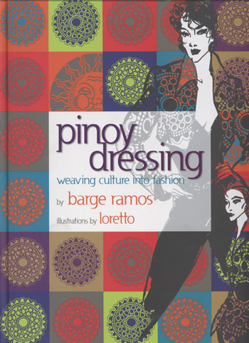 "Ramos' ""Pinoy Dressing, Weaving Culture into Fashion""  (Photo courtesy of Barge Ramos)"