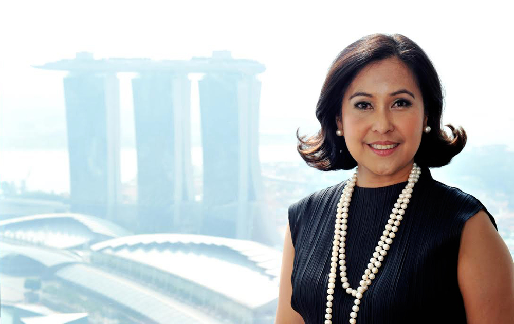 Nina Aguas, whose family hails from Tarlac, has traveled the world as a successful bank executive. (Photo courtesy of Nina Aguas)