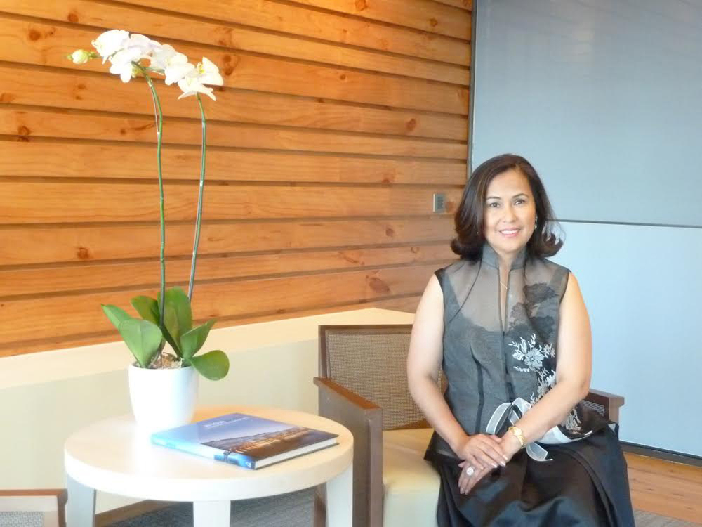 Nina Aguas, PBCom President and CEO (Photo courtesy of Nina Aguas)