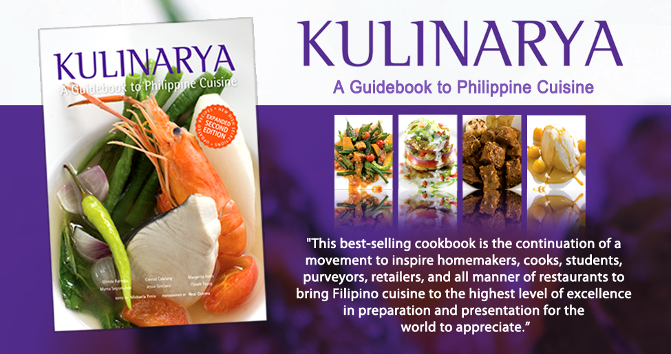 """Kulinarya: A Guidebook to Philippine Cuisine"" (Expanded Second Edition)"