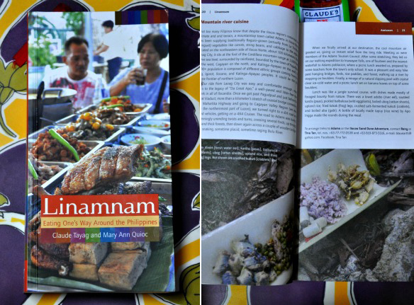 """Linamnam: Eating One's Way Around the Philippines"" by Claude Tayag and Mary Ann Quioc"