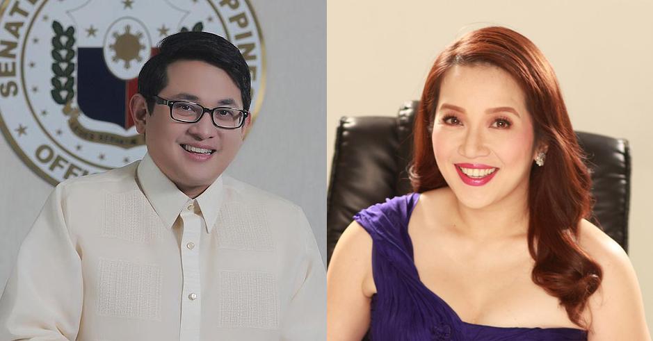 Senator Bam Aquino and Kris Aquino (Sources: official photo of Senator Bam Aquino and mb.com.ph)