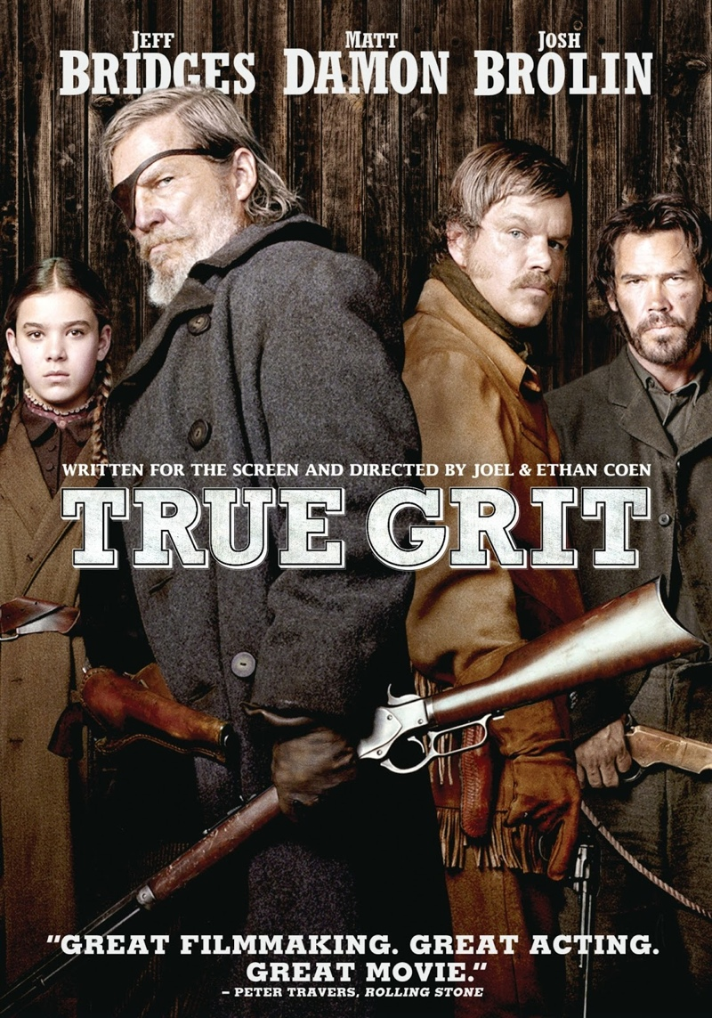 True Grit (2010). Hailee Steinfeld (left) was nominated for the 2011 Academy Award for Best Supporting Actress.