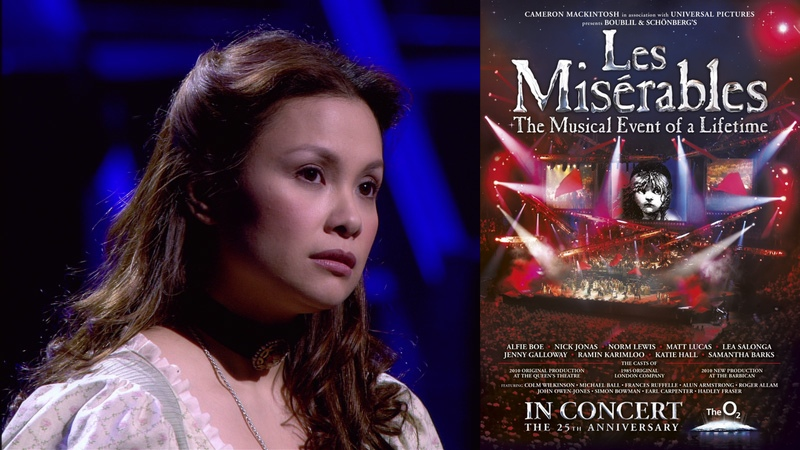 Les Miserables In Concert: 25th Anniversary Edition (2010). Tony® Award winner Lea Salonga stars as Fantine, the mother of Cosette.