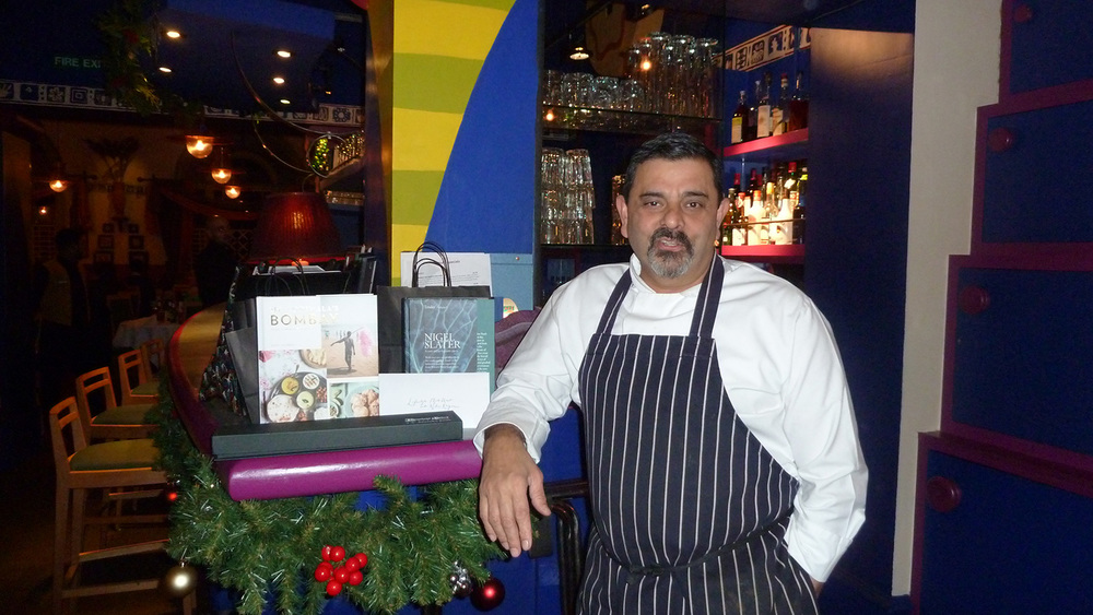Cafe Spice Namaste owner Cyrus Todiwala, OBE DL  (Photo by Gina Consing McAdams)