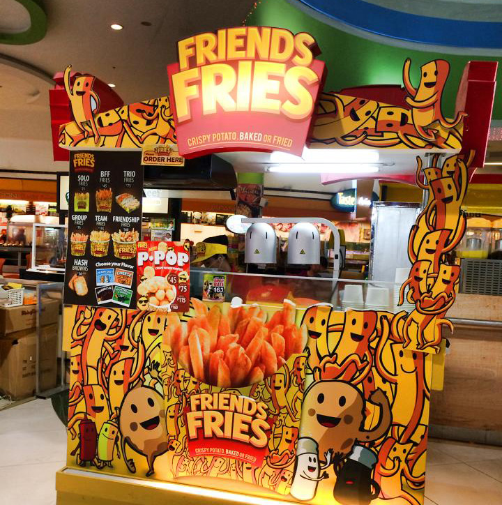 """Friends Fries"" (Photo by Nina De Torres Ignacio)"
