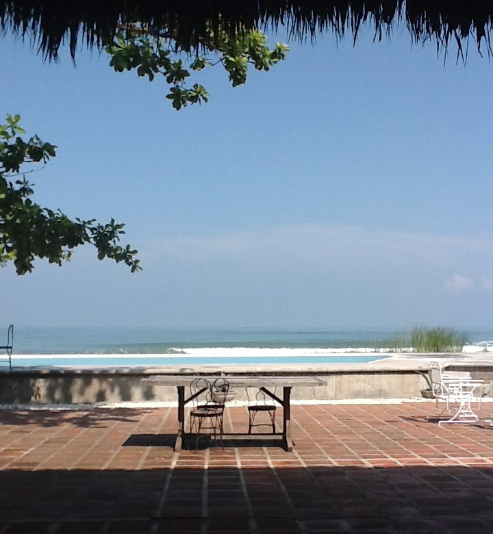 A view of the Western Philippine Sea from Balay Batac (Photo courtesy of Luis Francia)