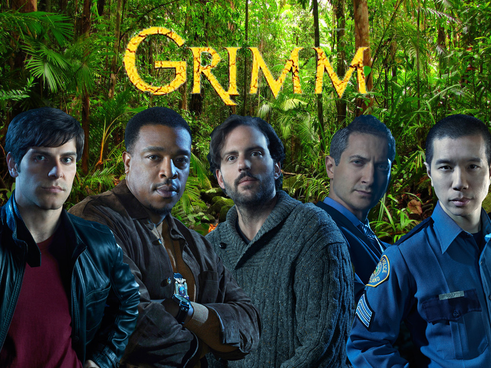 Grimm (2011-  ) features Filipino American Reggie Lee (right) in a scene-stealing supporting role. (Source: browe14 at fanpop.com)