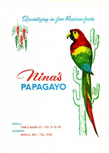 Nina's Papagayo, Mexican Cuisine