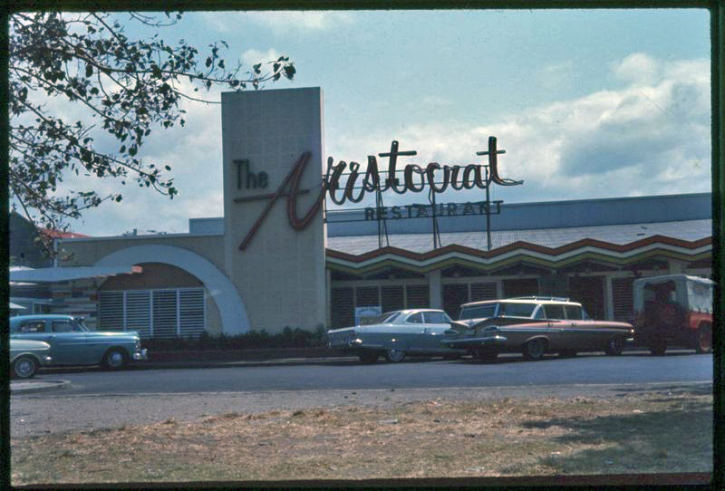 The Aristocrat around 1960