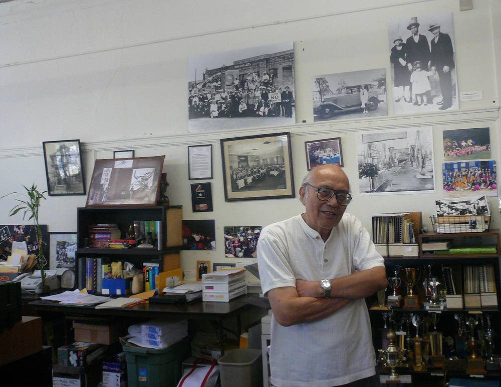 Fred Cordova was the founding president of the Filipino American National Historical Society (FANHS). This is the last photo taken of him by author Rodel Rodis. (Photo by Rodel Rodis)