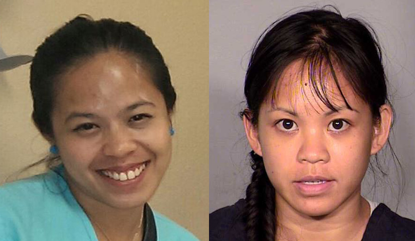 Las Vegas murder victims (L-R): Daisy Dahan (Source: Elizabeth Fisher's facebook page) and Elinor Indico (Source: Las Vegas Police Department)