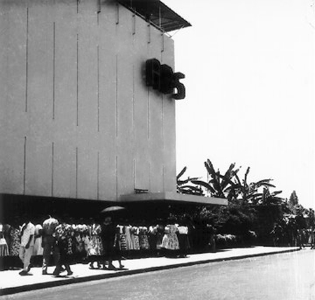 ABS Studio on Dewey Boulevard, 1961 (Source: manilanostalgia.com)