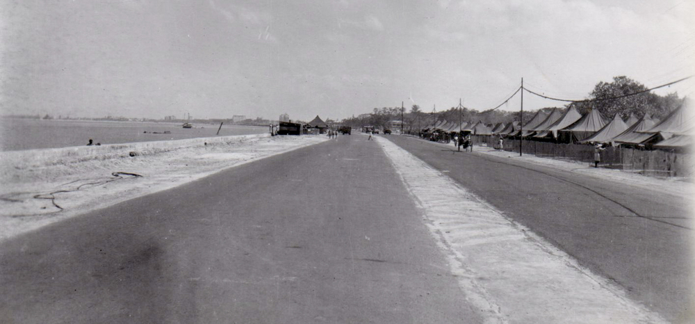 Dewey Blvd. used as an airstrip, 1945 (Source: manilanostalgia.com)