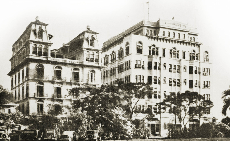 Luneta Hotel and University Club Hotel/Apartments, 1930s (Source: manilanostalgia.com)
