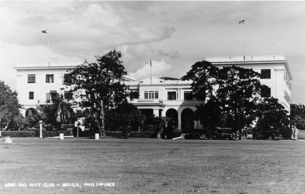 Army Navy Club, 1940 (Source: manilanostalgia.com)