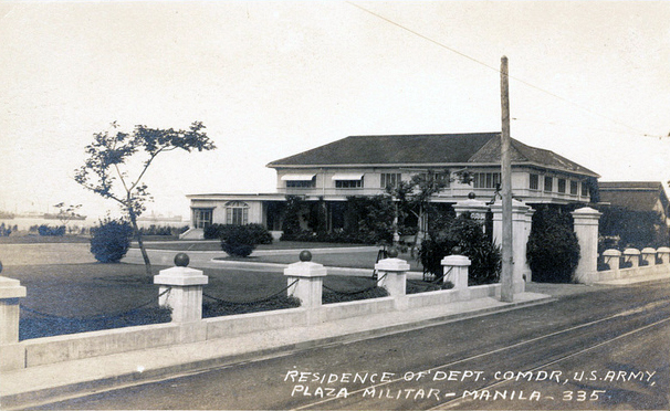 Plaza Militar residence (Source: manilanostalgia.com)