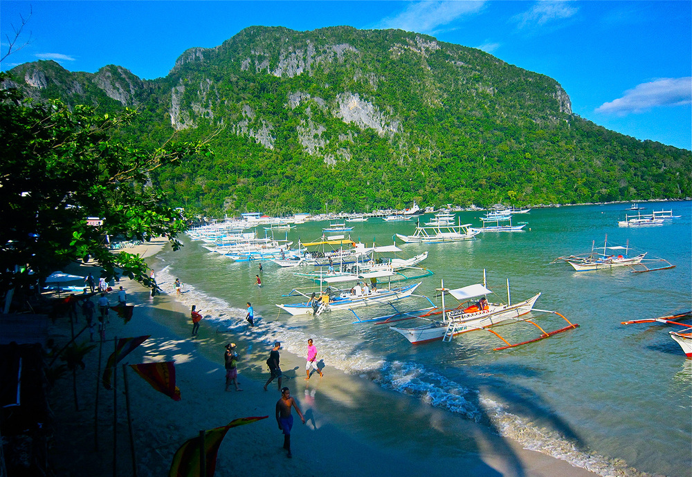El Nido, Palawan (Photo by Liisalaukkanen/Wikimedia Commons)
