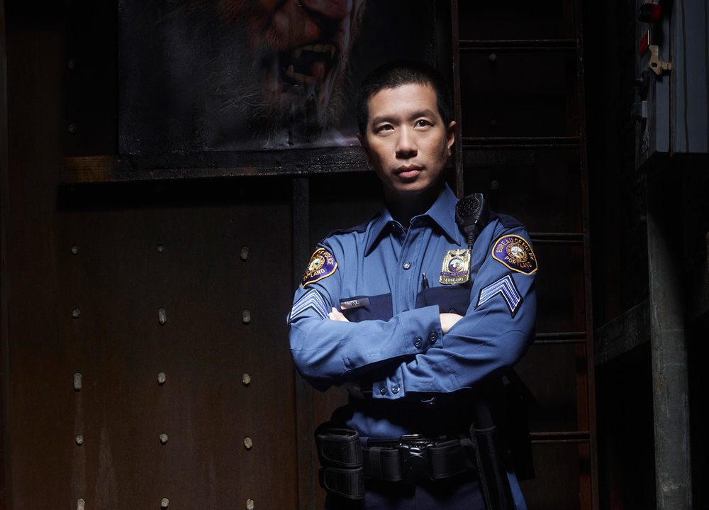 "Reggie Lee as Sgt. Wu on NBC's ""Grimm"" (Photo by Michael Muller/NBC)"