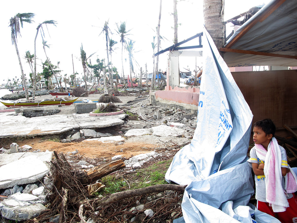 The devastation in Barangay 89-90 in Tacloban City. (Photo courtesy of Rene J. Navarro)