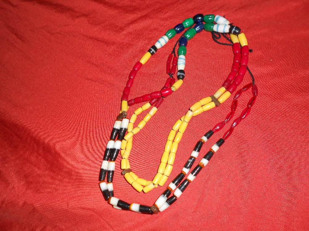 Kalinga beads made from recycled plastic (Photo by Desiree Caluza)