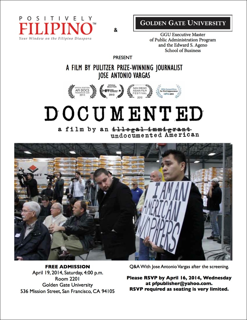 """Documented"", A Film by Pulitzer Prize-Winning Journalist Jose Antonio Vargas"