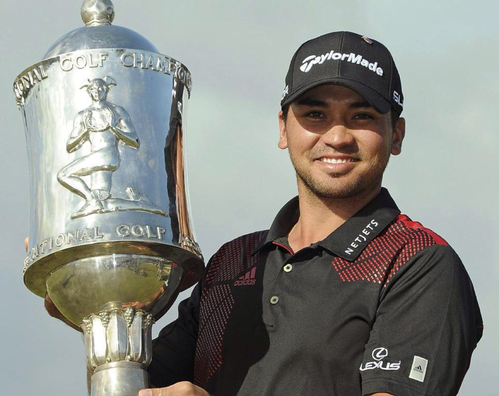 Jason Day winning the World Cup in Melbourne in 2013  (Source: Twitter/Photo by Robert Prezioso/Getty Images)