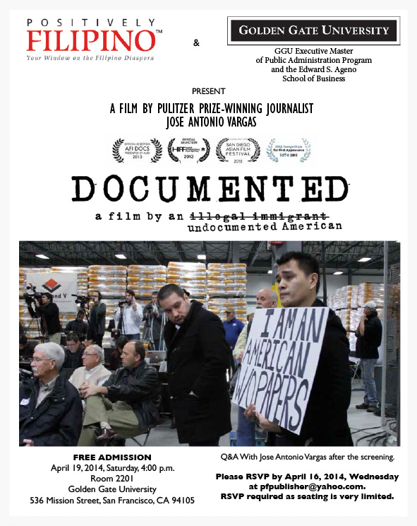 "SCREENING: ""Documented"", A Film By An Undocumented American"