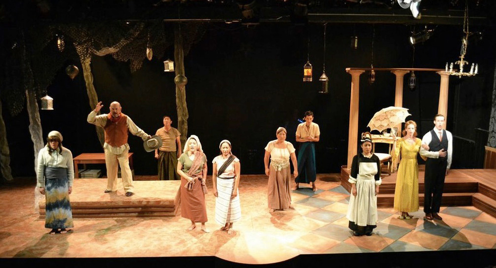 The company of CINNAMON GIRL (Photo by Blake Boyd)