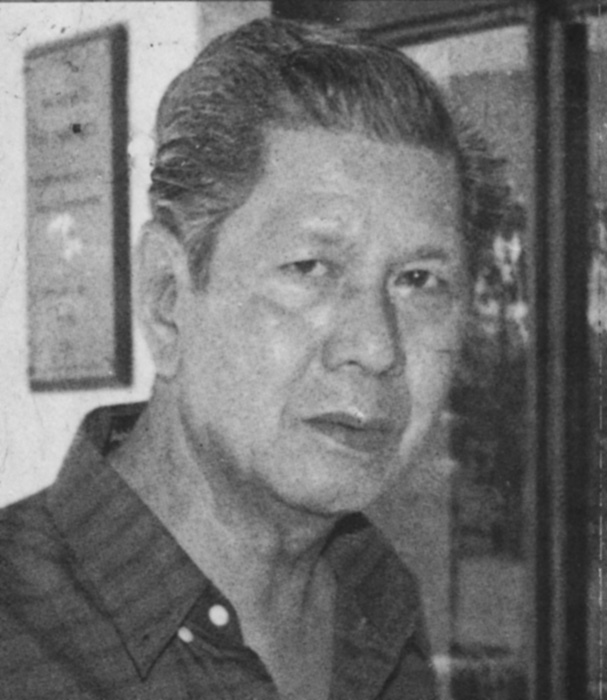 Nick Joaquin (Photo by Philippine Graphica)