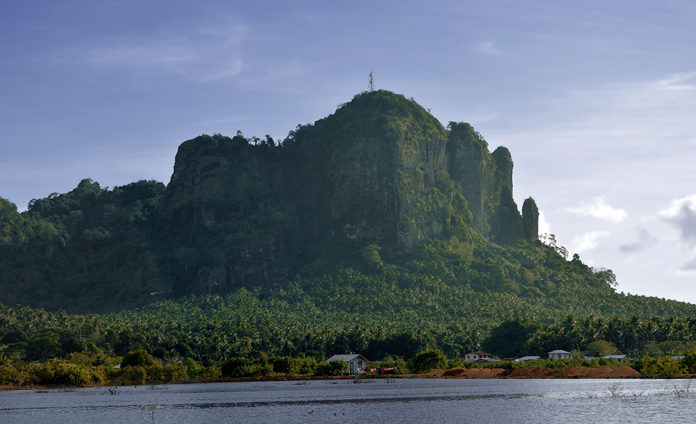 Bud Bongao is Tawi-Tawi's most famous mountain, an important pilgrimage site for both Christians and Muslims. (Photo by Gregg Yan)