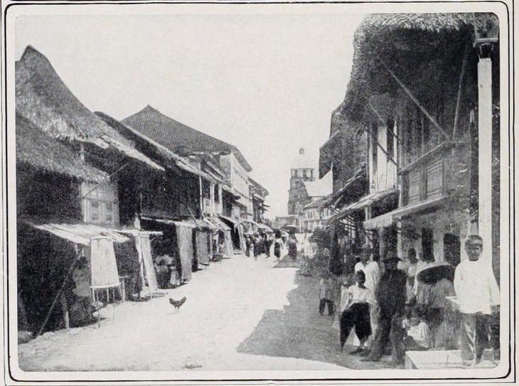 Escolta, still a sleepy, slow-paced street, c. 1880s