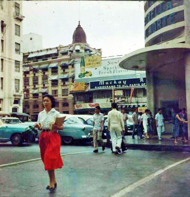 PlazaMoraga,EstrelladelNorteentrance,1950s(Source:ManilaNostalgia)
