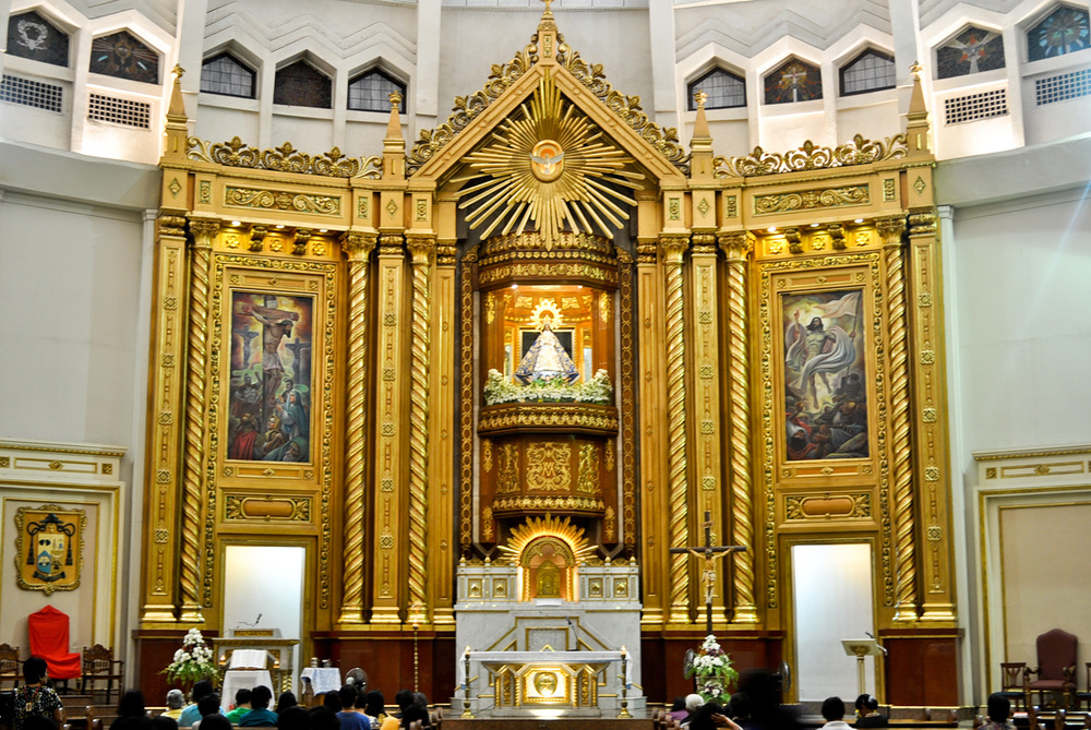 Nuestra Señora de la Paz y Buenviaje at the Antipolo Cathedral (Photo by Kevin Michael Aguinaldo)