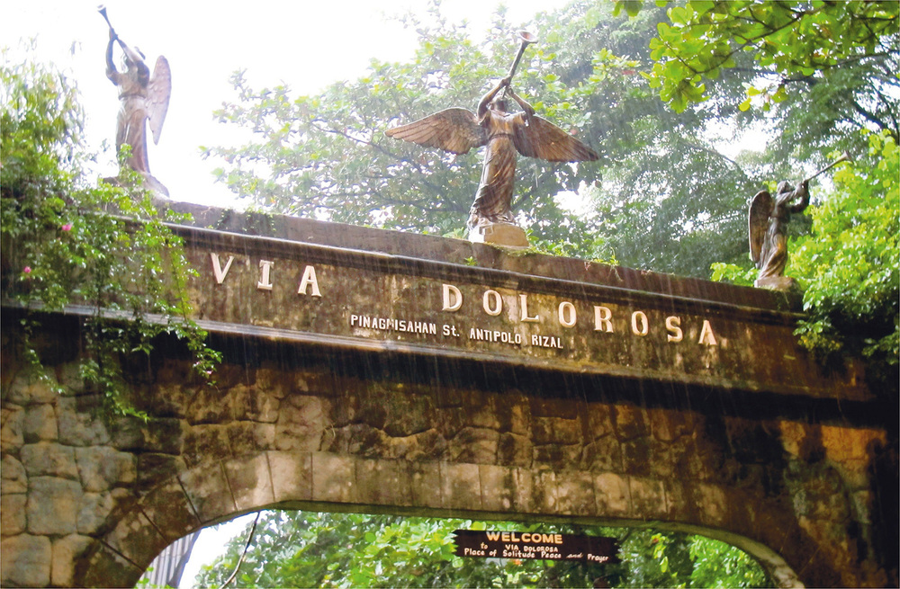 The gate at Via Doloroso (Source: www.expatphilippines.ph)