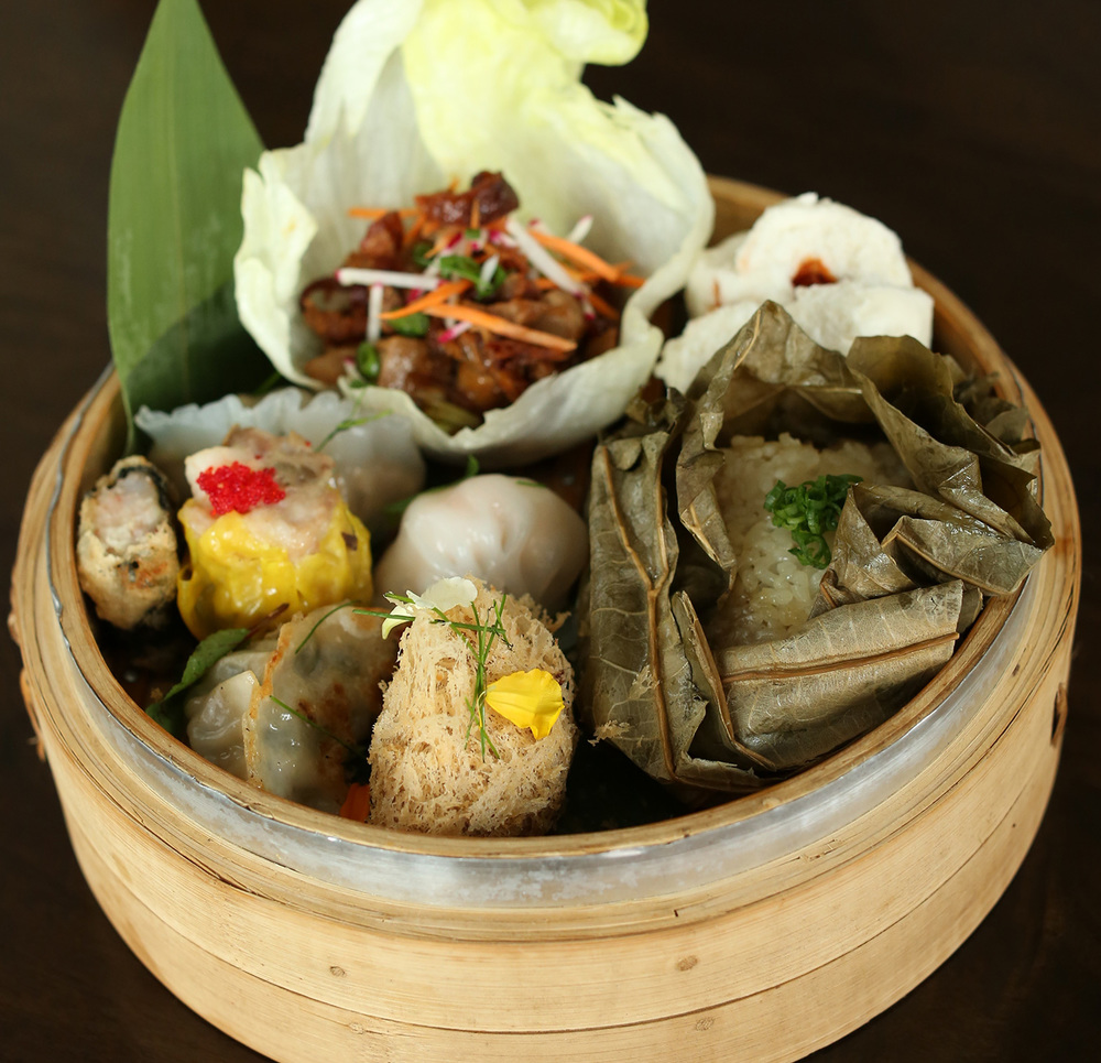 Aglibot's Dim Sum Lunch Remix (Photo by Kenny Kim)