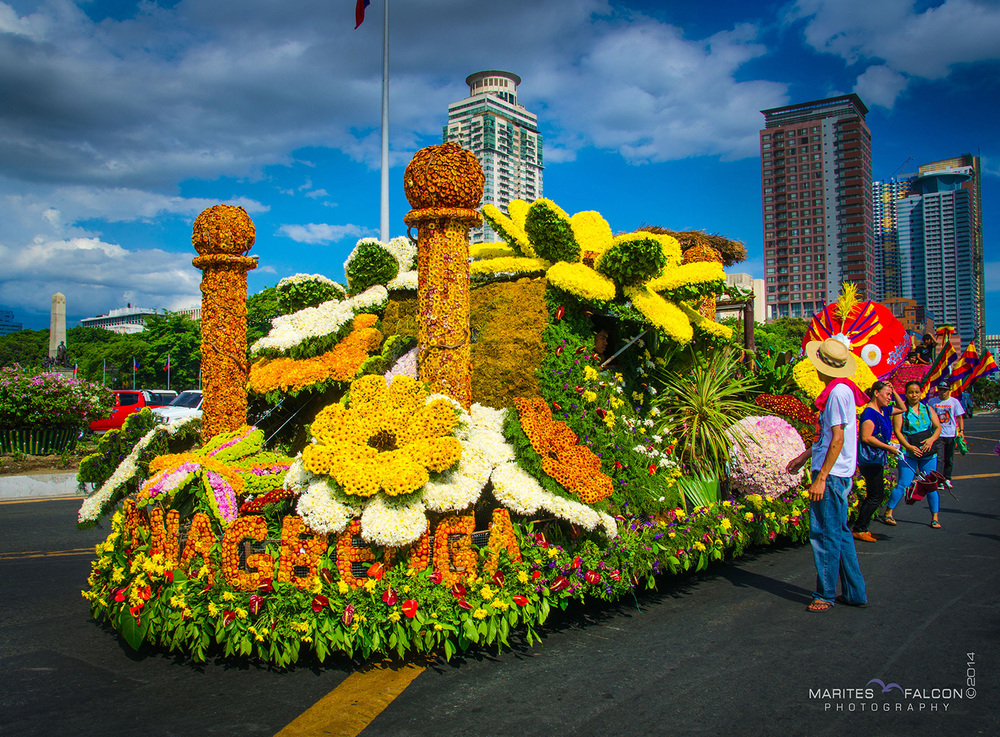 Panagbenga Festival of Baguio Float