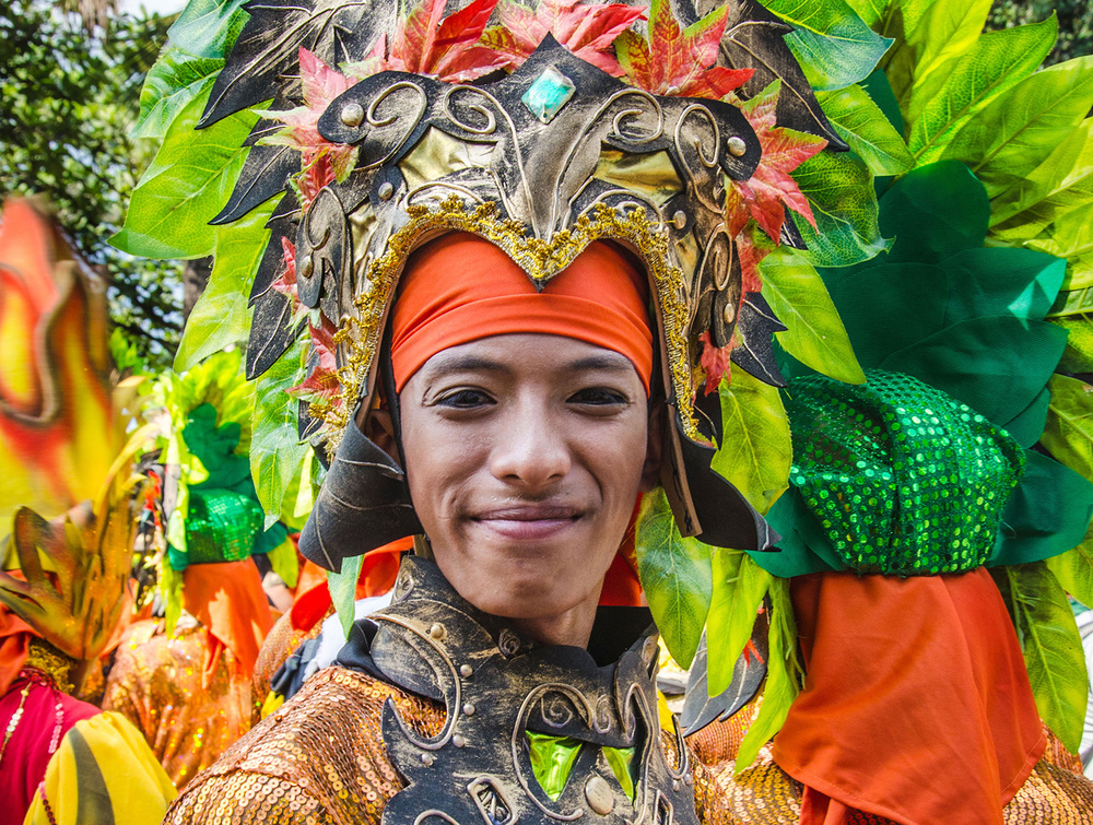 A Sinulog Festival Participant from Lumad Basakanon of Cebu City