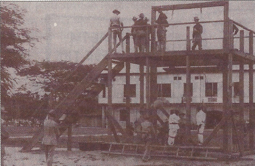 Martyrdom: Filipino revolutionaries hanging from American gallows (Photos from the collection of Jonathan Best and John L. Silva)