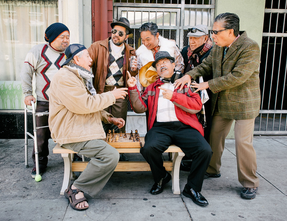 A harmless game of chess with the Guerrillas of Powell Street(Photo by Nina De Torres Ignacio)