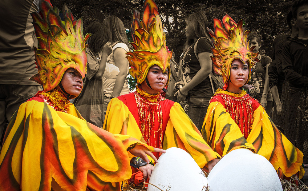 Participants from Cebu City for Sinulog Festival, Aliwan 2014