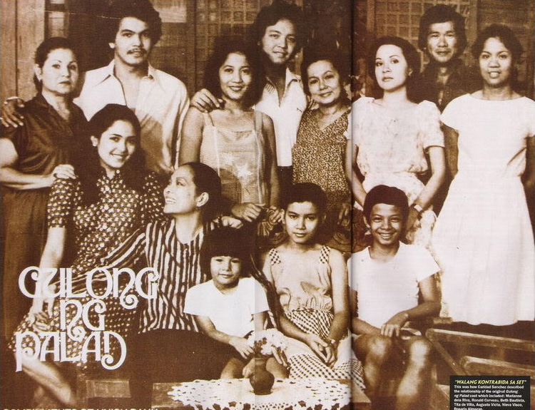"70s and 80s Philippine soap opera hit ""Gulong ng Palad"" (Source: network54.com)"