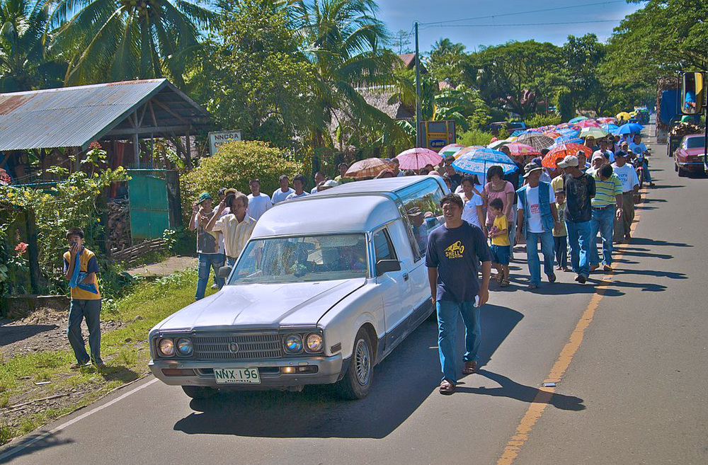 A lot of Filipino superstitions deal with funerals and death. (Photo by moyerphotos)