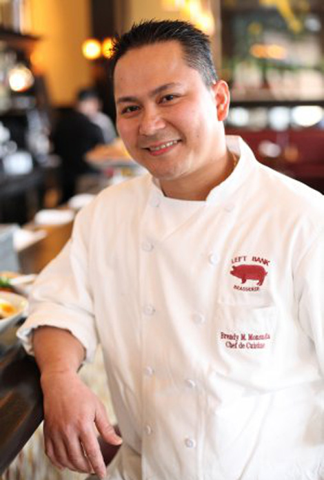 Brendy Monsada,  chef de cuisine  of Left Bank Brasserie in Menlo Park, California (Photo courtesy of Brendy Monsada)